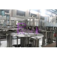 Wholesale 12 Heads Big Bottle Vacuum Filling Machine With Chain Feeding Conveyor from china suppliers