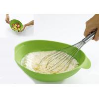 Wholesale Big Size Mixing Salad Collapsible Silicone Bowl L240 * W200 * H95mm from china suppliers