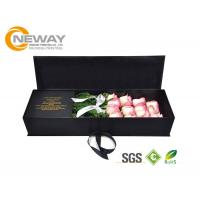 Wholesale Rectangle Cardboard Carton Flower Paper Box with Glossy / Matt Lamination from china suppliers