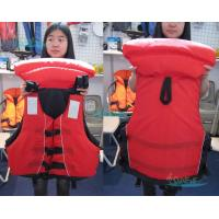 Wholesale EPE Fashionable Marine Life Jackets With 3m Reflective Tape from china suppliers