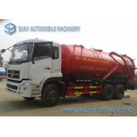 Wholesale 6x4 Dongfeng Vacuum Tank Truck 20M3 20000L Sewer Suction Cart from china suppliers