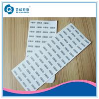 Wholesale Destructible Security Label , Anti-Counterfeiting Die Cut Vinyl Stickers from china suppliers