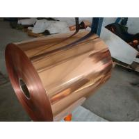 Wholesale Excellent Ductility Copper Shielding Foil / Pure Copper Foil For Architecture Fitting from china suppliers