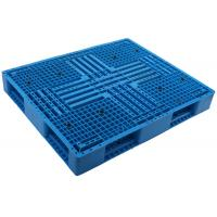 Wholesale 1100*1100 HDPE Durable injection molde picture frame shape stackable Plastic Pallet  for Shipment racking pallet from china suppliers