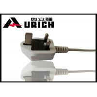 Wholesale UK BS 1363 Plug 3 Prong TV Power Cord , Three Prong Appliance Cord For Laptop from china suppliers