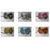 Wholesale Masquerade Mardi Gras Venetian Party Eye Mask With Sparkling sequins from china suppliers