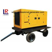 Wholesale Portable Mobile Power Generator / Trailer Generator With Four Stroke Diesel Engine from china suppliers