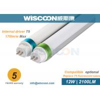 Wholesale 12 Watt T5 Fluorescent Tube Led Replacement 170 Lm/W For Hospital , OEM/ODM Service from china suppliers