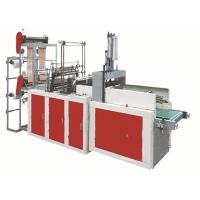 Wholesale Hot Sealing Cold Cutting Flat Bag Making Machines 0.005mm - 0.1mm Bag Thickness from china suppliers