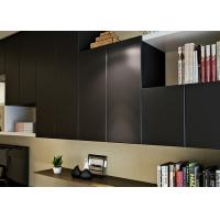 Quality Black Color PVC Self Adhesive Wallpaper For Study Room,No Glue Needed for sale