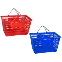Wholesale Single handle Supermarket Shopping Baskets from china suppliers