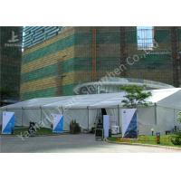 Wholesale 20x35M Large Canopy Tent With Sidewalls , Outdoor Party Marquee Soft Pvc Fabric Cover from china suppliers