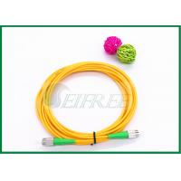 Wholesale Low Insertion Loss Simplex Outdoor Optical Fiber Patch Cord  FC-FC SM from china suppliers