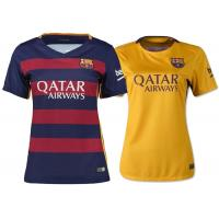 Wholesale Womens Soccer Uniforms Grade Original In Stock Yellow Home Barcelona from china suppliers