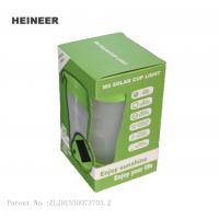 Wholesale Rechargeable camping lanterns with two different power,solar LED cup lights for outdoor from china suppliers