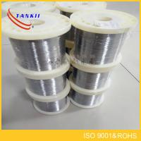 Wholesale Nichrome Resistance Nicr Alloy Ni80Cr20 Resistance Wire Silver Used As Resistance Materials from china suppliers