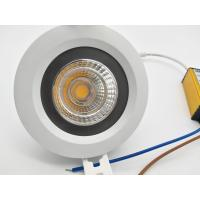 Buy cheap Water Proof  IP65 2.5inch 7W Commercial LED Downlight COB 650lm 5years Warrenty from wholesalers