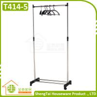Buy cheap Factory Price Good Quality Portable Single Side Stand Cloth Display Rack from wholesalers