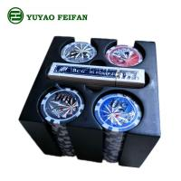 Wholesale Poker Set 200 Plastic Square Tray High Value Poker Chips Party Game Set from china suppliers
