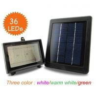 Wholesale New 36LED Solar powered Landscape light outdoor flood light for garden decoration light sensor+White/Warm White/Green from china suppliers