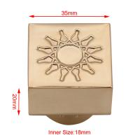 Buy cheap Zinc Alloy Perfume Spray Top Customized Size With Elegant Decoration Logo from wholesalers