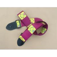 Wholesale Promotional high quality guitar strap/belt with free sample from china suppliers