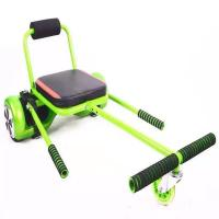 Wholesale Green Adjustable Seat Hoverboard Go Kart With Max Loading 150KG , Elastic Belt For Fixation from china suppliers