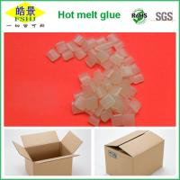Wholesale Transparent Hot Melt Adhesive Granule , Hot Glue Pellets For Packaging from china suppliers