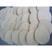 Wholesale Compressed  Cleaning Sponge / natural cellulose sponge IN WHITE from china suppliers