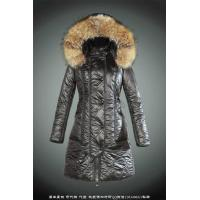 Wholesale wholesale brand moncler women down coats with big raccoon fur from china suppliers