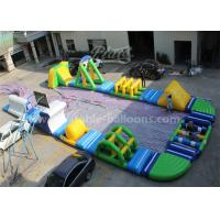 Wholesale Digital Printing Inflatable Aqua Park , Blow Up Water Park For 135 Persons from china suppliers