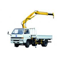 Wholesale XCMG SQ1ZK2 Knuckle Boom Truck Mounted Crane , 1400kg Wire Rope Raise for Sales from china suppliers