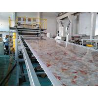 Wholesale 1220mm X 2440mm PVC Marble Sheet Production Line , PVC Marble Board Machine from china suppliers