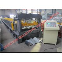 Buy cheap Automatic Industrial Steel Floor Deck Bending Machine with Hydraulic Cutter and Metal Roll Former Equipment from wholesalers