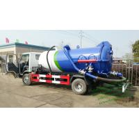 Wholesale ISUZU vacuum tanker truck septik tank truck  Cesspool Emptying Truck CAPACITY 3000 UPTO 22000L from china suppliers