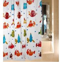 Wholesale Bathroom Flower Window Shower Curtain , Polyester And Water Repellent from china suppliers