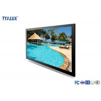 Quality 49 Inch Wall Mounted Digital Signage Advertising Display FHD resolution and Android OS for sale