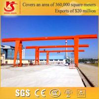 Capacity 5ton - 20 Ton boxed single girder gantry cranes