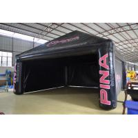 Wholesale Black Custom Inflatable Party Tent For Outdoor Advertisement To Exporters from china suppliers