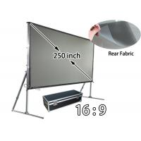 Wholesale Customized 250inch Rear Projection Screens , 16 9 Projection Screen With Carry Kits from china suppliers