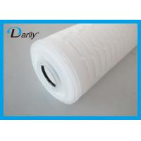Wholesale PP Micron Filter Cartridge Pleated Acid Water Cartridge Filter For Pharmaceutics from china suppliers