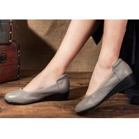 Wholesale Leather Ballerina Ballet Flats Comfortable Trendy Shoes for pregnant women from china suppliers