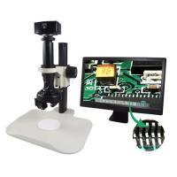 Wholesale Full HD Portable LCD Digital Microscope , 2X Coupler U500x Digital Microscope from china suppliers