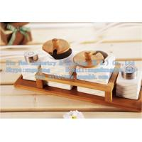Wholesale Ladders cruet, bamboo spice jar care of a family of four, wooden bamboo pepper shakers from china suppliers