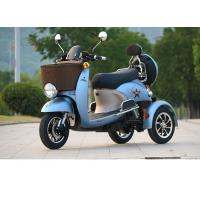 Wholesale electric tricycle 3 wheel scooter Charging Time 6-8h TRange Per Charge 40-60km Old man scooter folding electric bicycle from china suppliers