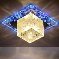 Wholesale LED crystal aisle ceiling light luminarias home decoration entrance lights led corridor from china suppliers
