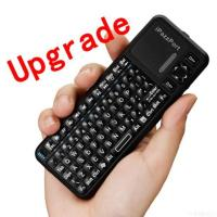 Wholesale Ipazzport Google Tv Remote With Wireless Keyboard And Htpc Keyboard from china suppliers