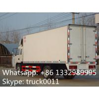 Wholesale factory selling 4x2 35cbm 10ton jac refrigerator box truck, high quality and competitive price 5-8ton refrigerated tuck from china suppliers