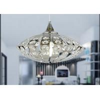 Wholesale Modern Stainless Steel K9 Crystal Ring Chandelier UFO Shape 100W from china suppliers