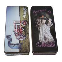 Wholesale Embossing Pencil Tin Box With Different Artwork  ,174 x 74 x 27mm from china suppliers